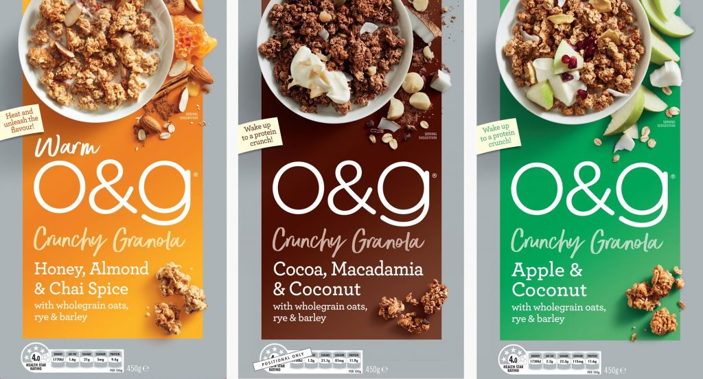 O&G Cereals Rob Palmer Photography