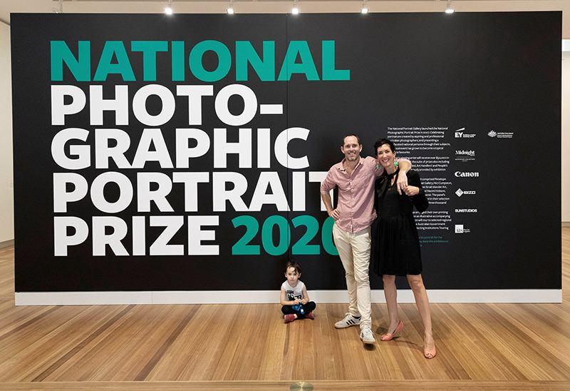National Photographic Portrait Prize Winner 2020 Rob Palmer Photography
