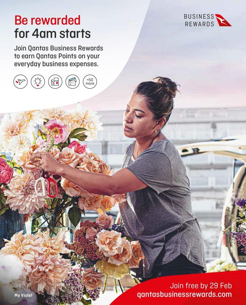 Qantas Business Rewards Rob Palmer Photography